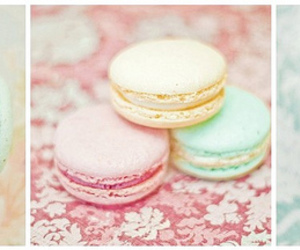 macarons, pastel, and photography image