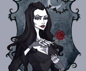 goth, art, and illustration image