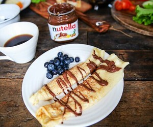 nutella, food, and coffee image