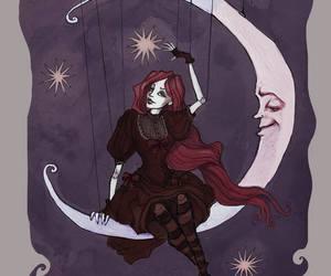 goth, irenhorrors, and illustration image