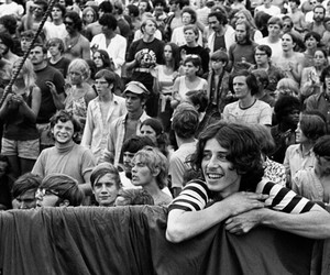 1969, woodstock, and love image