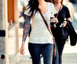 fashion, inked, and girl image