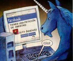 facebook and unicórnio image