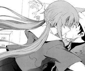 mirai nikki, anime, and manga image