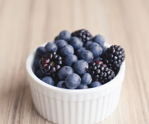 berries, blackberry, and blueberry image