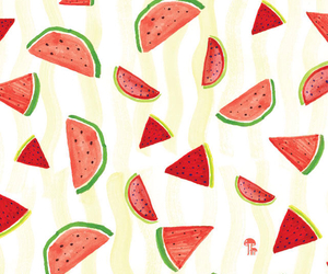watermelon, background, and fruit image