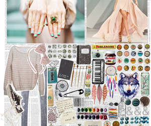 hipster and Polyvore image