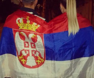 Serbia and love image