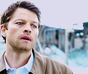 castiel, supernatural, and misha collins image