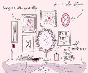 vanity, girly, and pink image