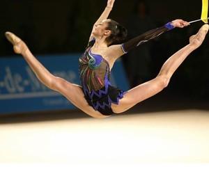 flexible, gymnastics, and rhythmic image