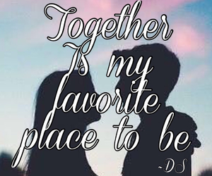 forever, together, and you & i image