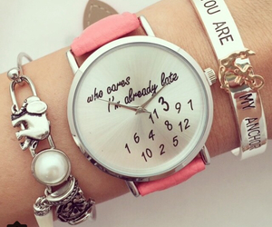 bracelet, girly, and pretty image