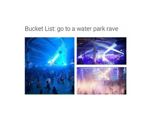 party and rave image