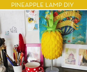 diy, junk, and lamp image