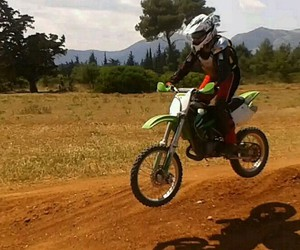 fun, jump, and motocross image