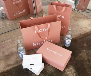 fashion, acne studios, and pink image