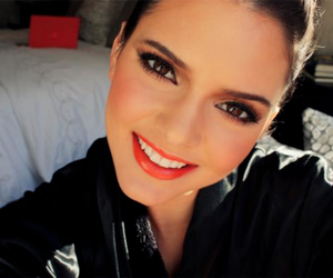 kendall jenner, pretty, and make up image