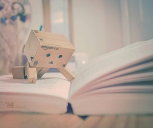 book, danbo, and read image