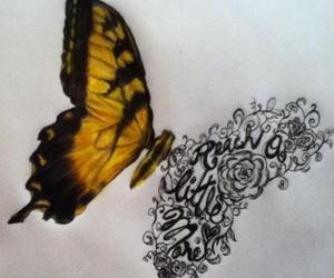 paramore, butterfly, and tattoo image