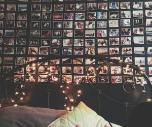 bedroom, room, and lights image