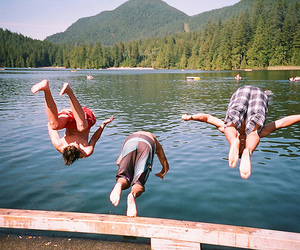 boy, friends, and summer image