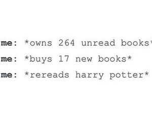 books, harry potter, and read image