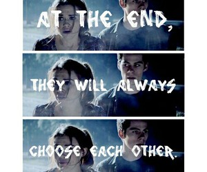 teen wolf, lydia martin, and stiles stilinski image