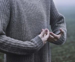 boy, gray, and hands image