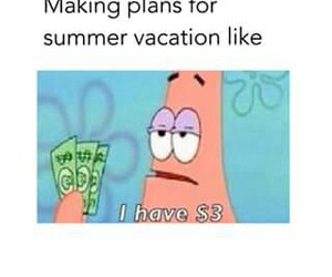 money, summer, and vacation image