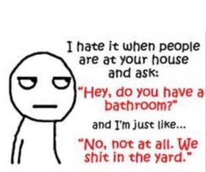 bathroom, black, and lol image