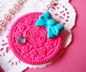 oreo, pink, and cute image