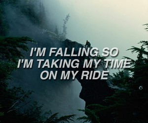 Lyrics, twenty one pilots, and ride image
