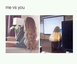 funny and hair image