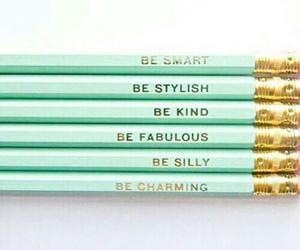 pencil and stylish image