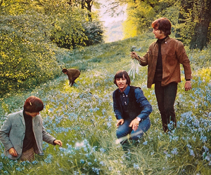 the beatles, help, and john lennon image