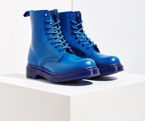 alternative, blue, and boots image