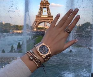 paris, luxury, and nails image