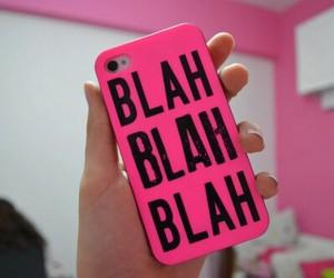 pink, iphone, and blah image