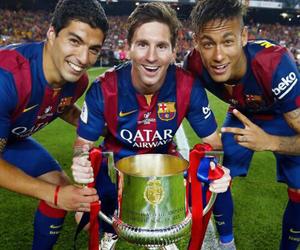 messi, neymar, and msn image