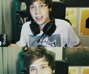 colores, audifonos, and rubius image