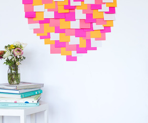 diy, heart, and post it image
