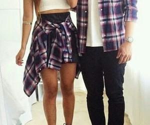 couple and black heels image
