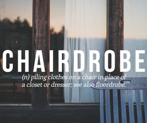 chair, clothes, and floordrove image