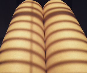 legs and sunset image