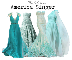 the selection, dress, and america singer image