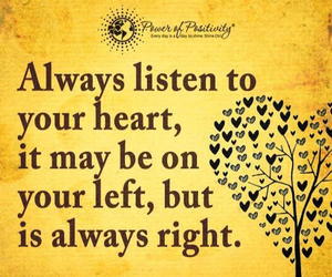 always, quote, and heart image