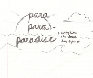coldplay, paradise, and music image