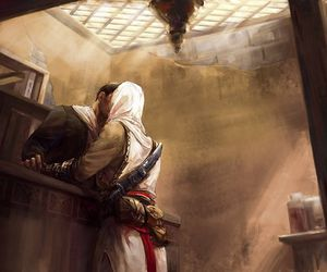 assassin's creed, malik, and altair image