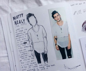 the 1975, indie, and matty healy image